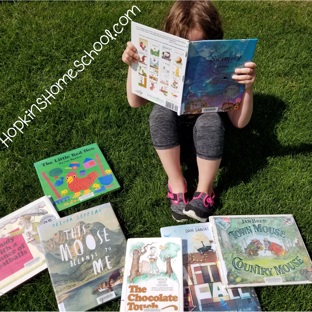 Picture Books on our summer reading list