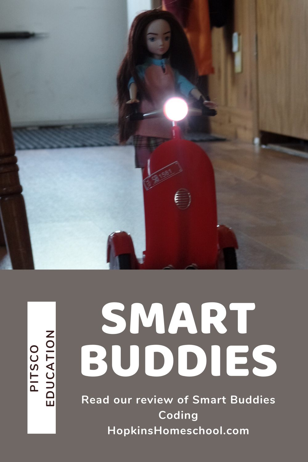 coding with smart buddy by Pitsco Education