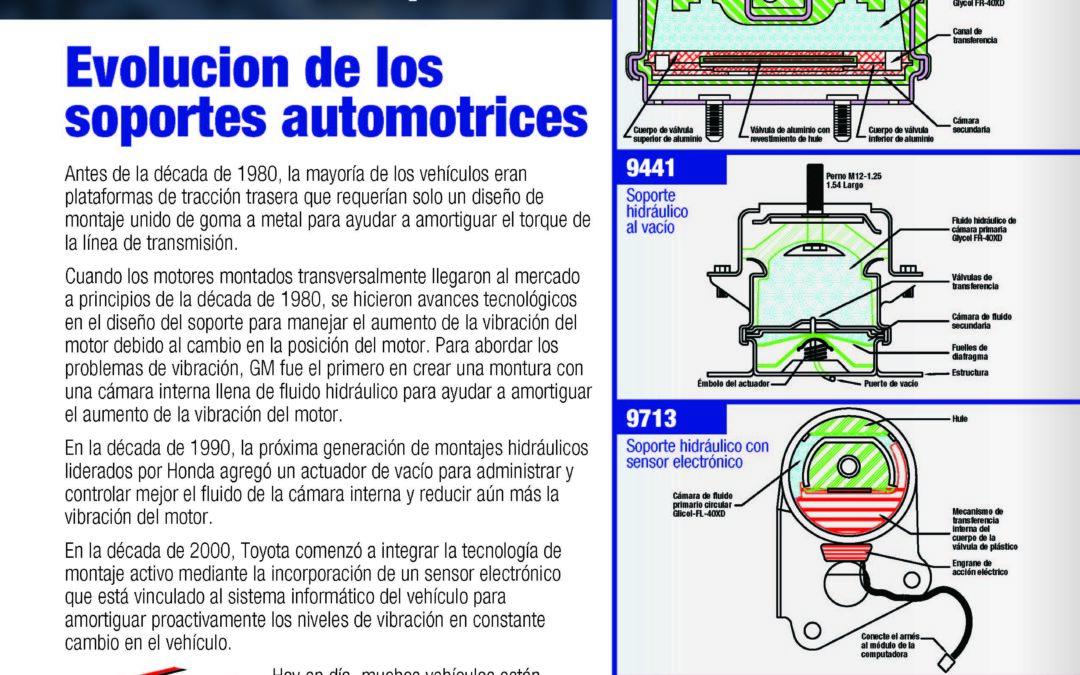 Anchor Evolucion de los soportes automotrices
