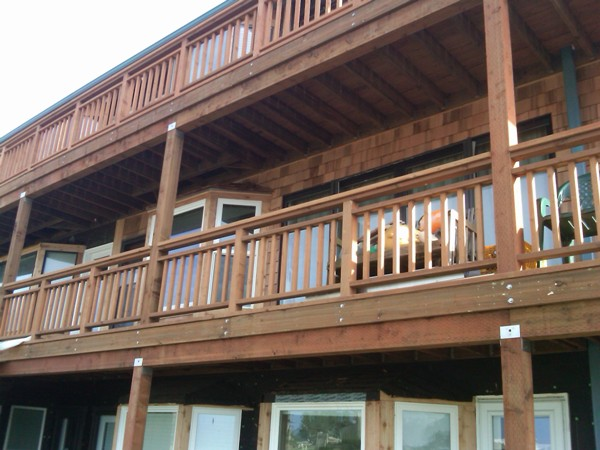 Deck and siding project update.