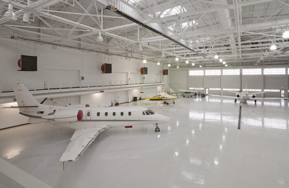 Aircraft Hangar Floor Coating