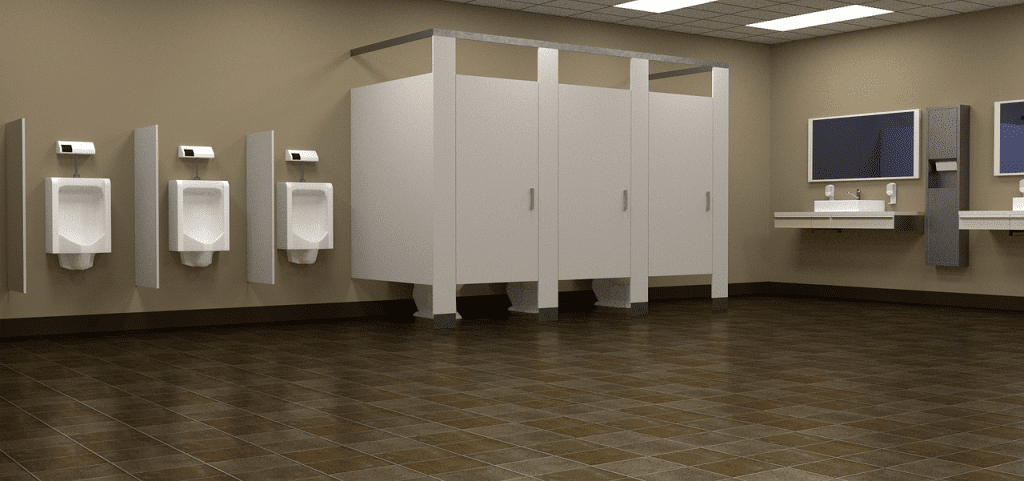 Improve business with a clean restroom