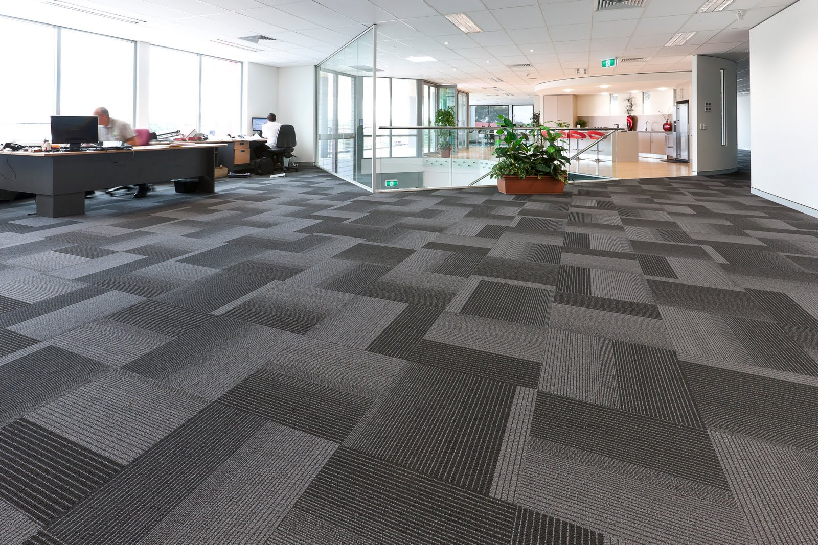 clean office carpet with a cool texture