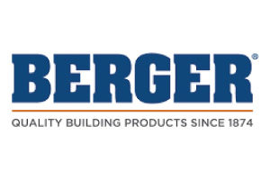 affordable roofing and remodeling partner logo _berger