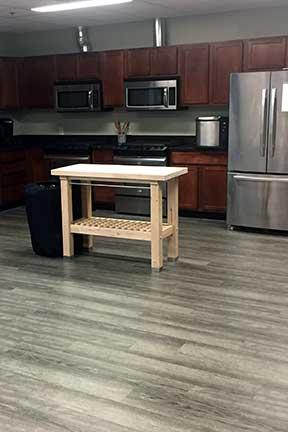 commercial-lurury-vinyl-tile-kitchen