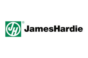 affordable roofing and remodeling partner logo_james hardie