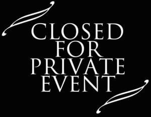 Private Event @ CH 3
