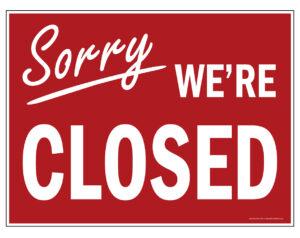 Membership Office Closed