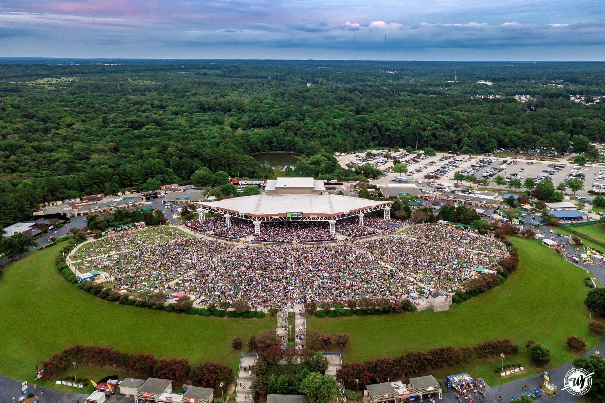 Coastal Credit Union Music Park • Raleigh, North Carolina