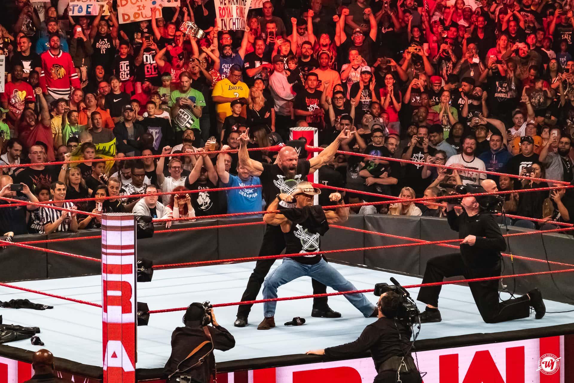WWE Monday Night Raw - Chicago