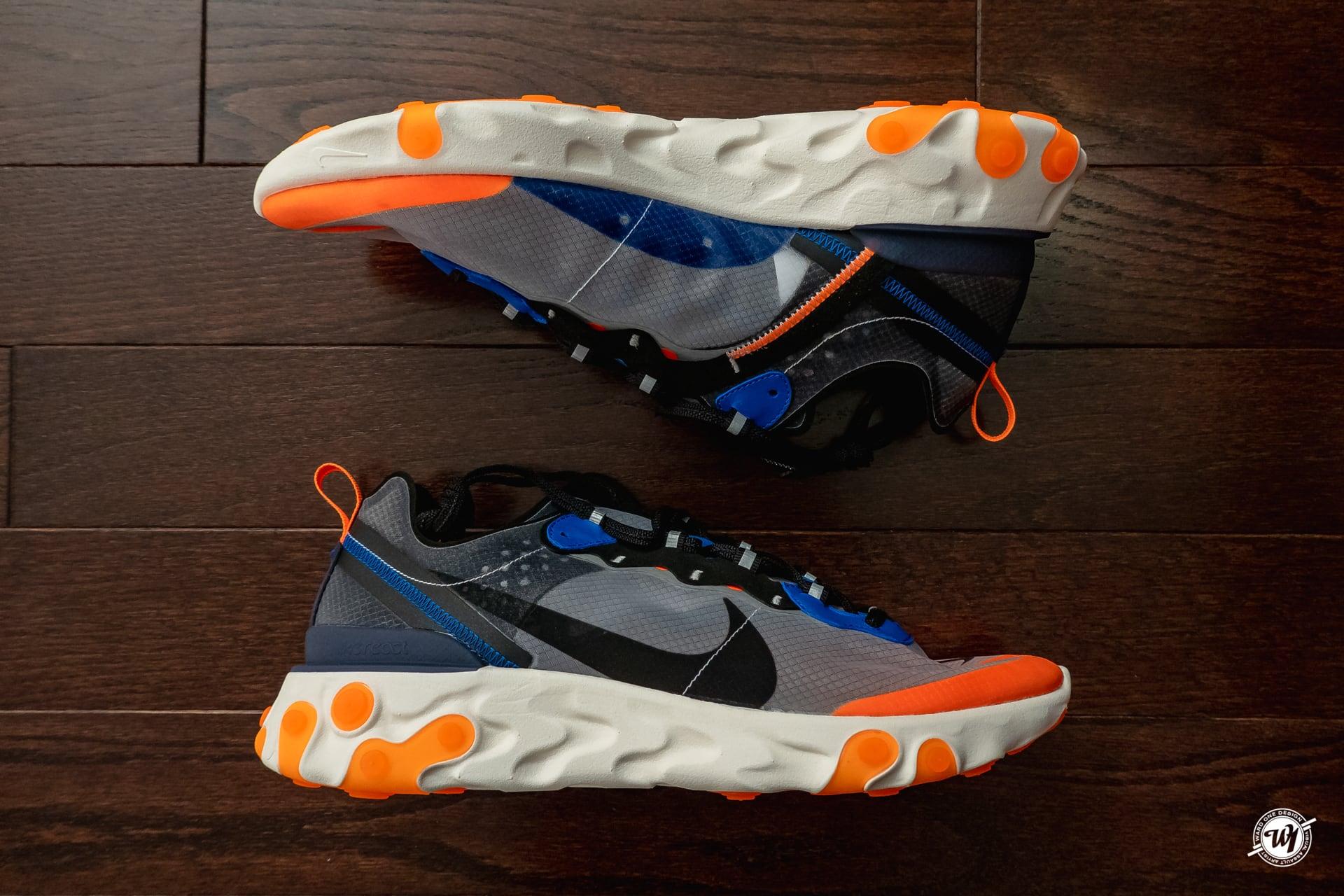 Nike React Element 87 • Total Orange