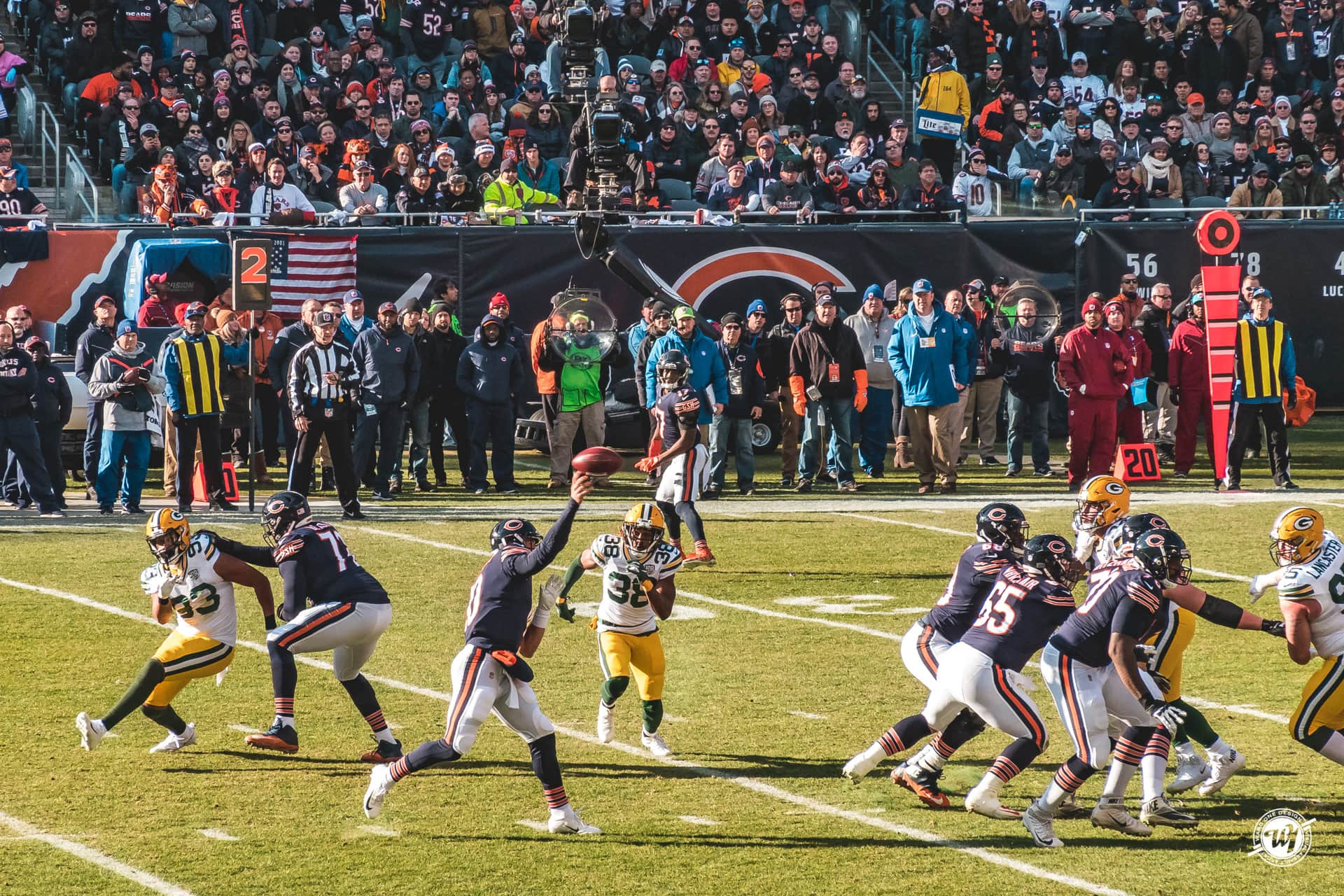 Chicago Bears vs Green Bay Packers 12/16/2018