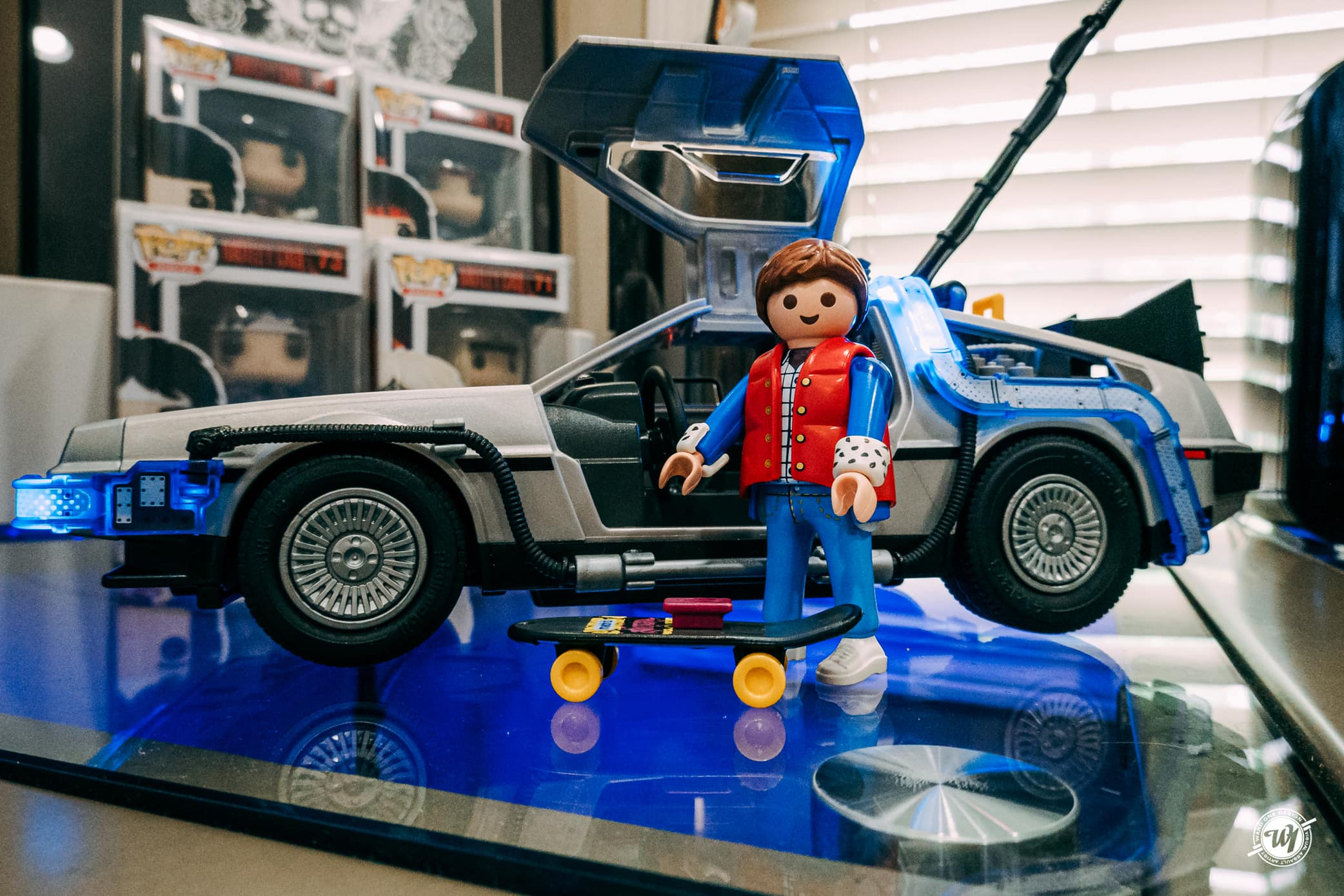 Back to the Future Playmobil Set