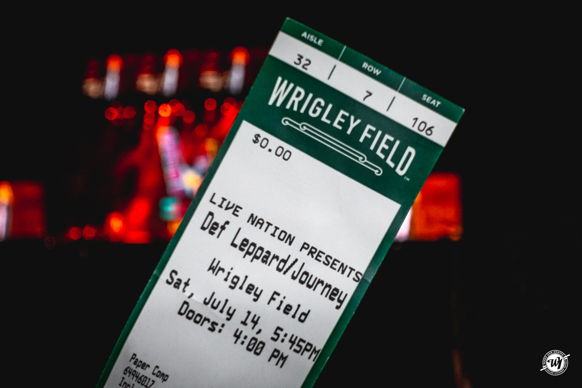 Def Leppard - Journey - Wrigley Field Chicago 2018