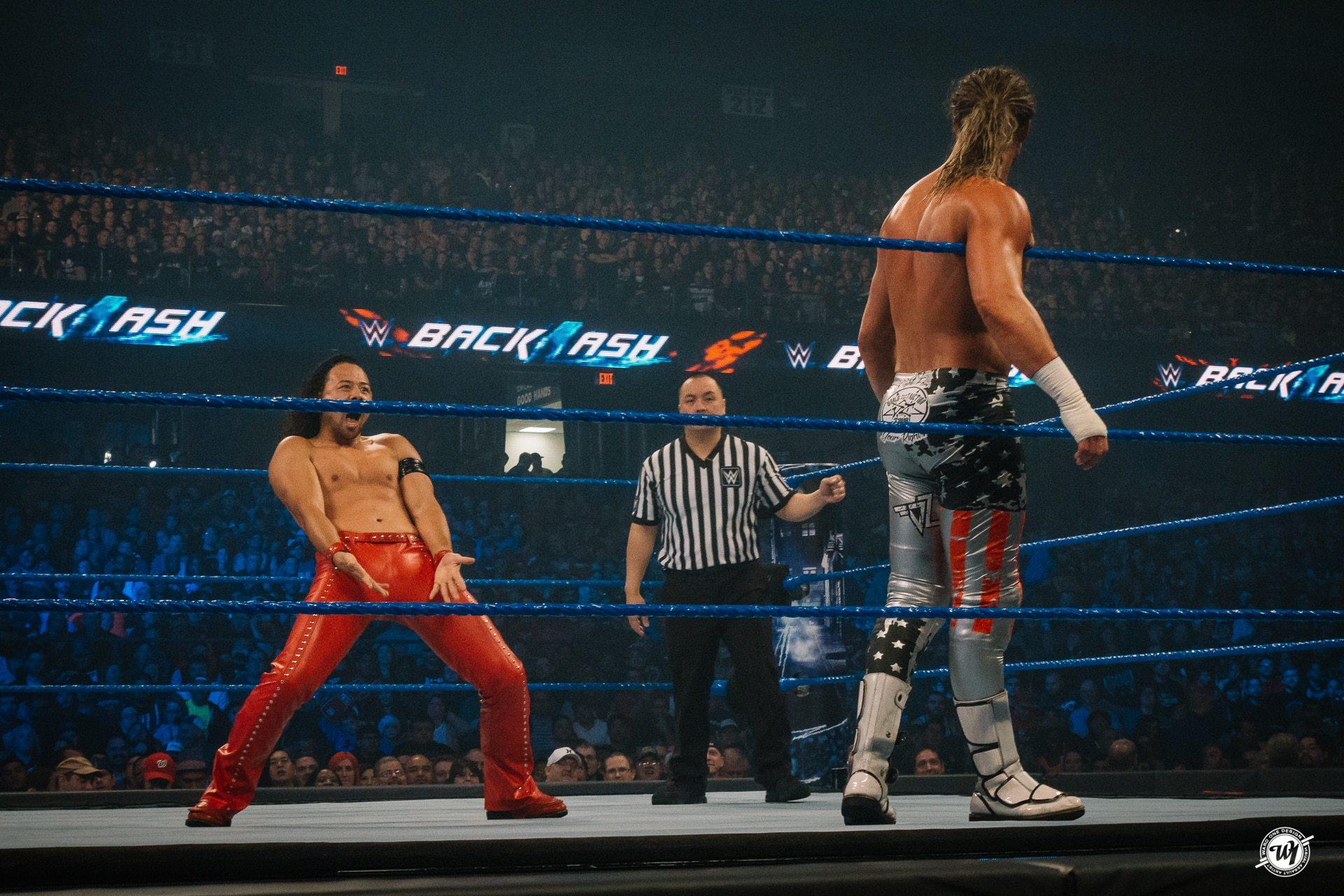 Shinsuke Nakamura at WWE Backlash 2017