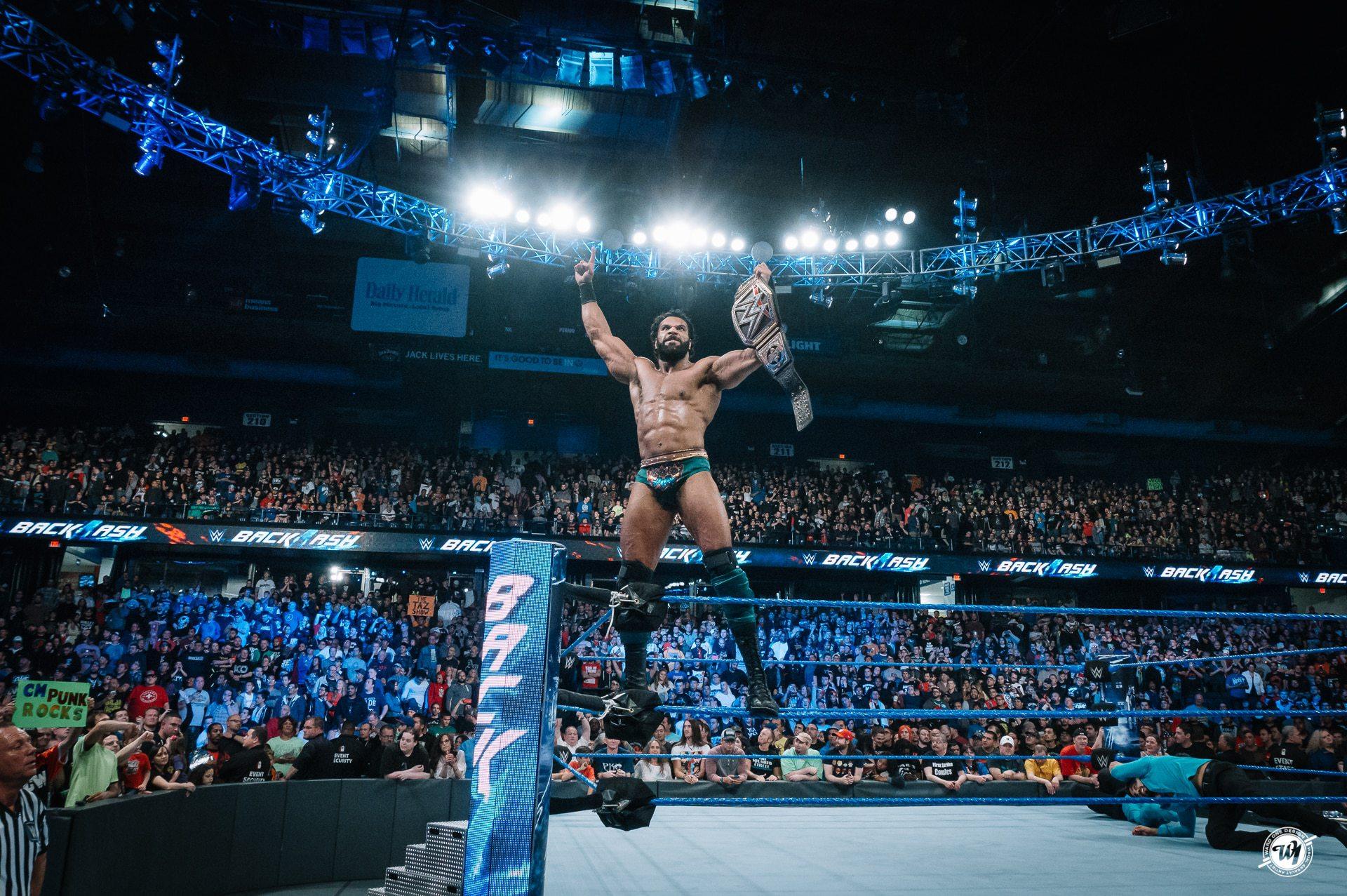 WWE Champion Jinder Mahal at Backlash 2017