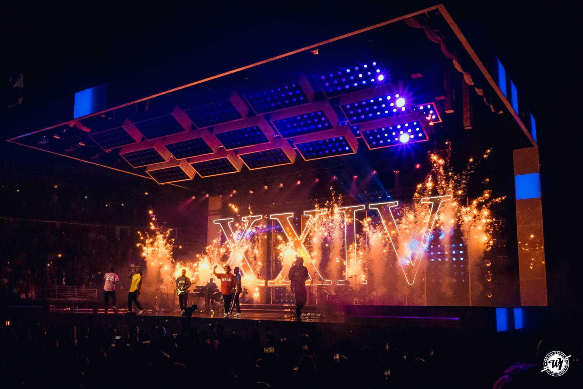 Bruno Mars 24k Magic Tour 2017