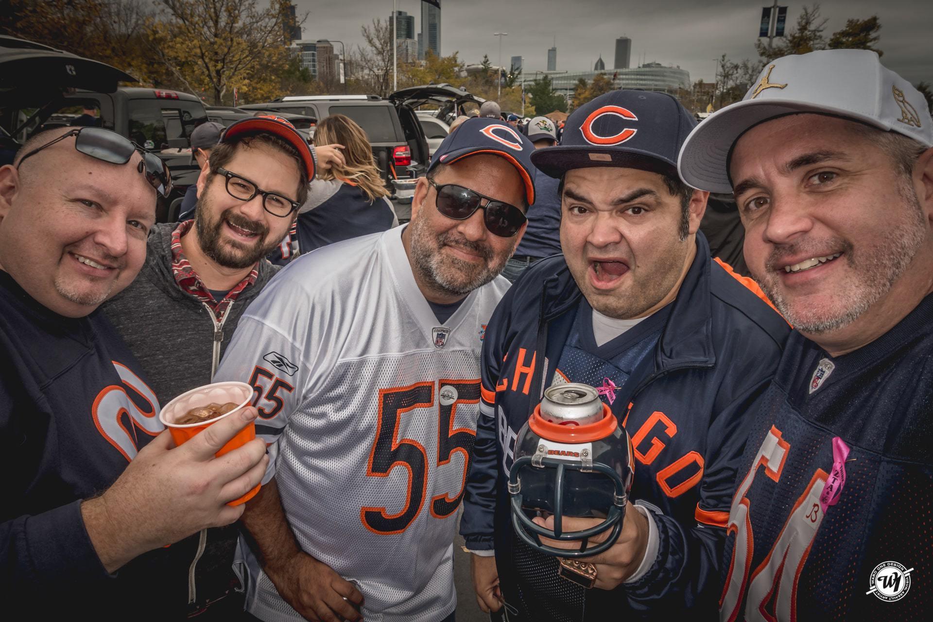 Epic Chicago Bears Birthday Tailgate