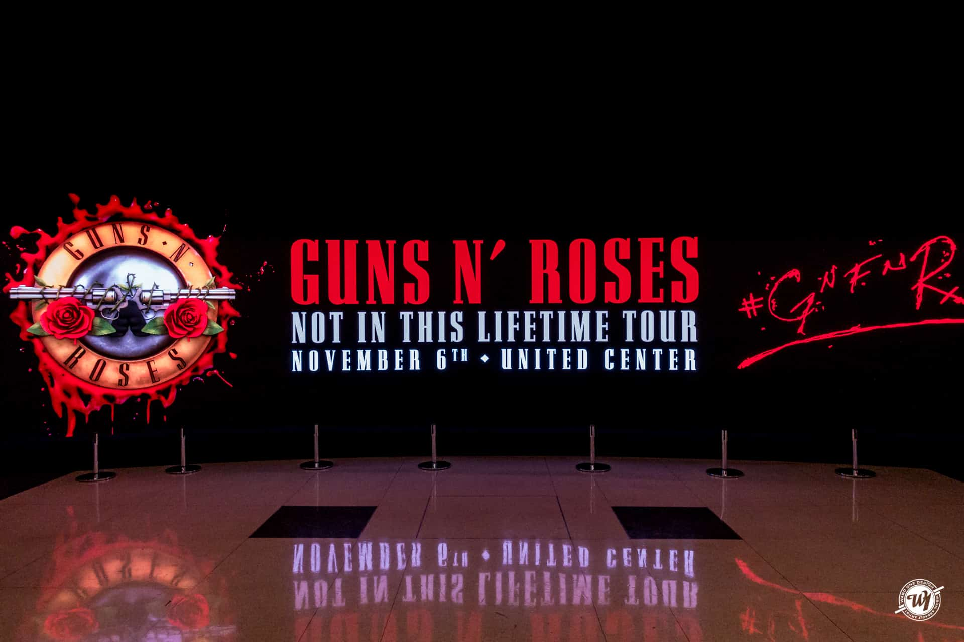 Guns N' Roses • Not in this Lifetime Tour • 2017 - Chicago