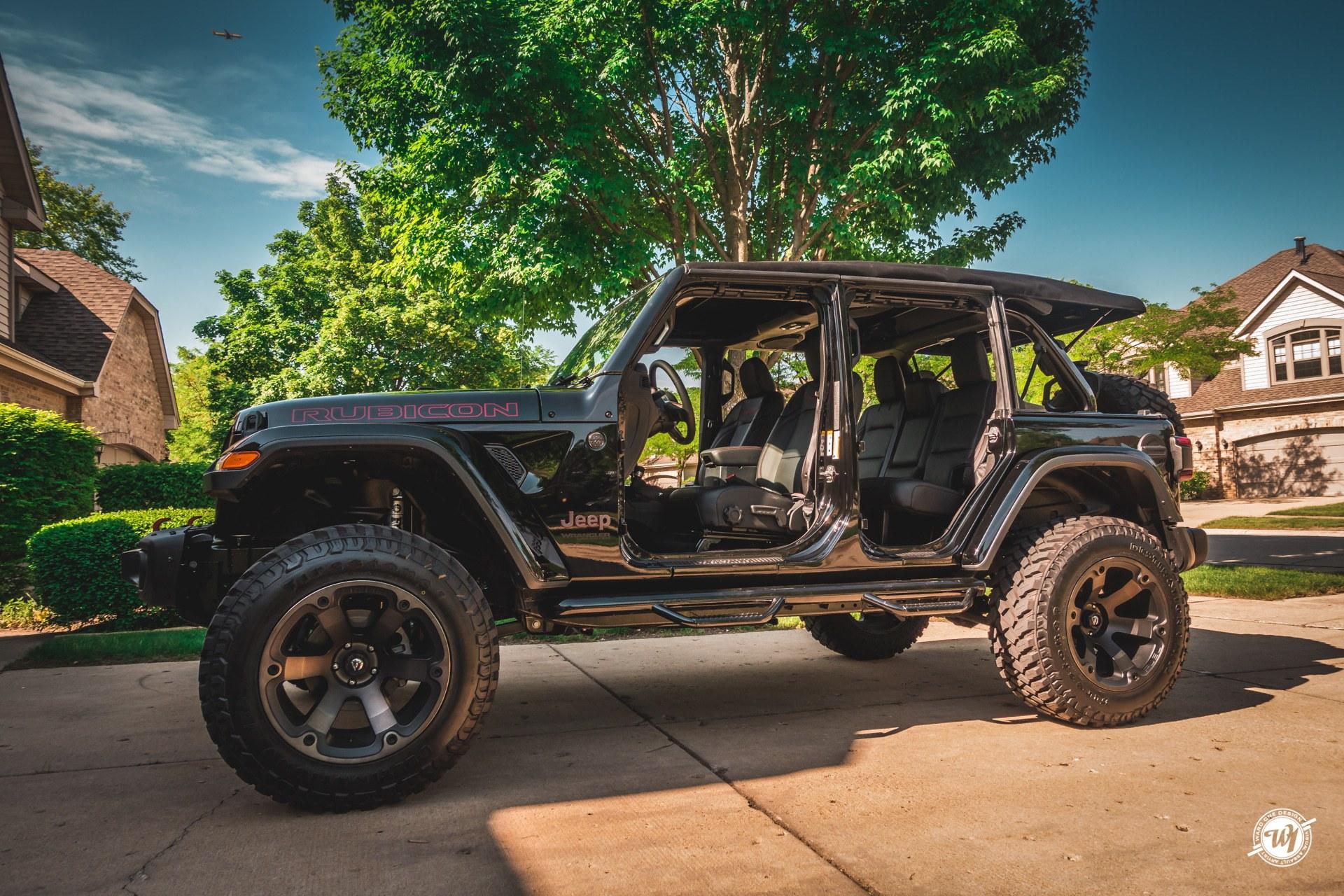 2018 Jeep Wrangler JLUR Custom Focal Audio Setup