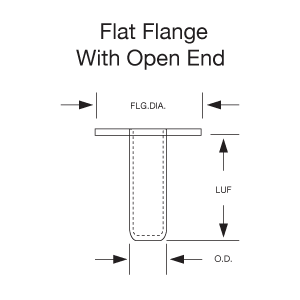 Eyelet-Flat-Flange-Closed-End-Stimpson