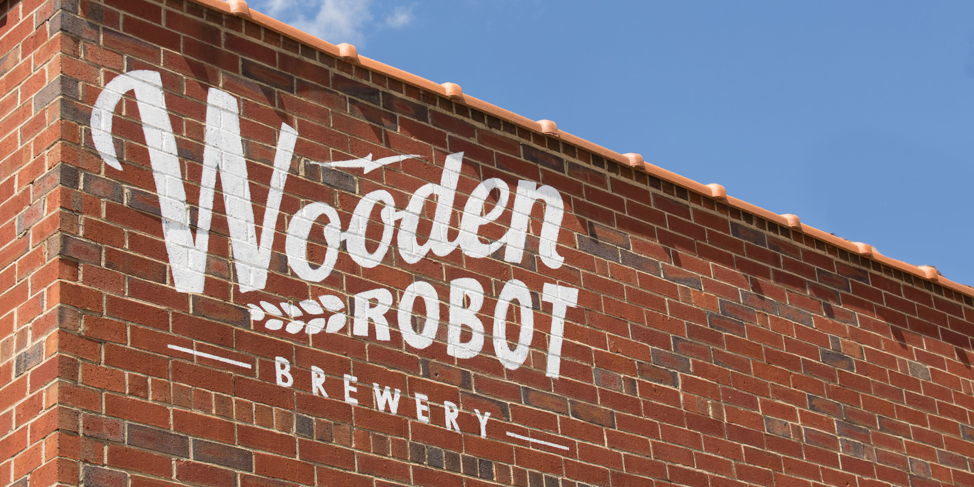 Wooden Robot Exterior Signage