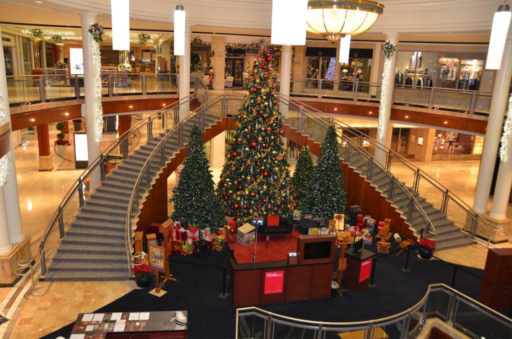 Shopping Mall Staircase Renovation