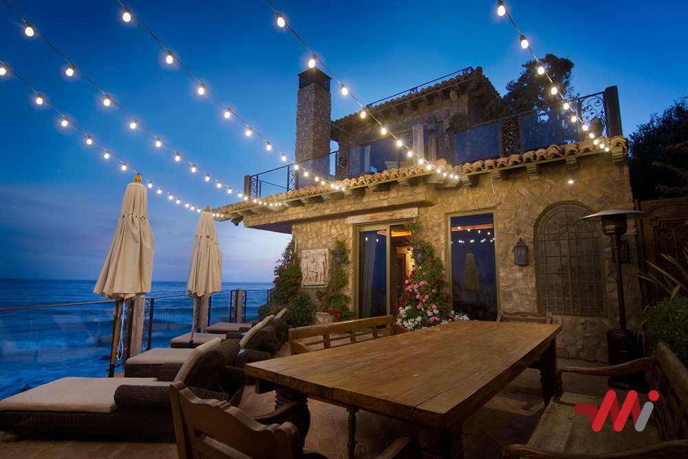 Year-Round Lighting Installation - Backyard Cafe Lighting
