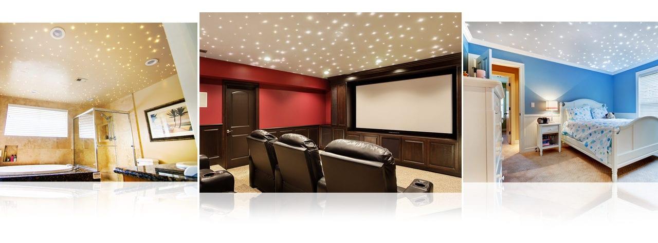 Fiber Optic Starfield Ceiling - Interiors
