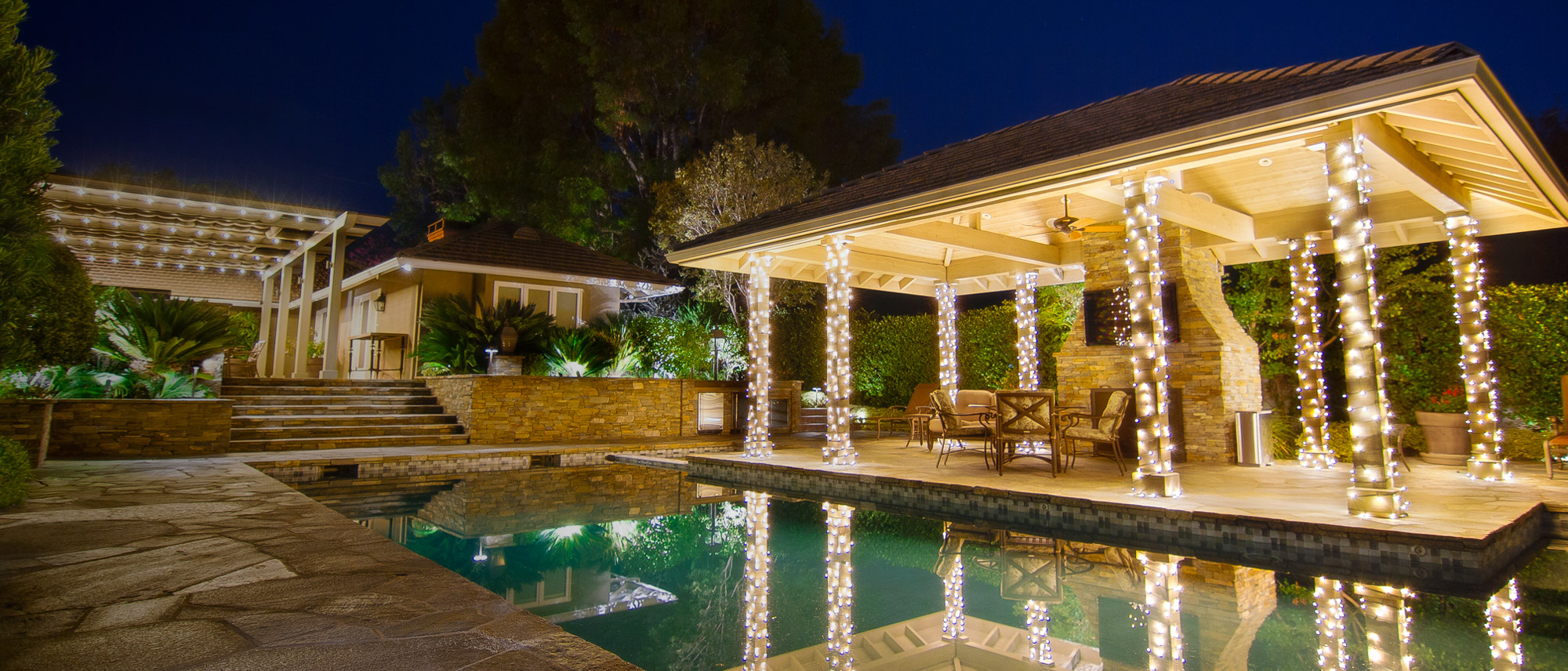 Landscape Lighting for Pools