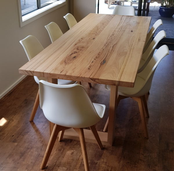 artisan timber dining table image