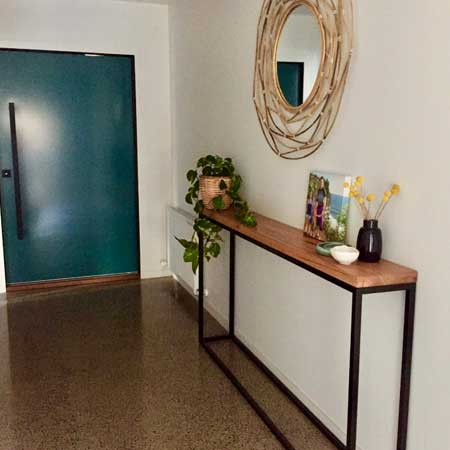 Hallway console table