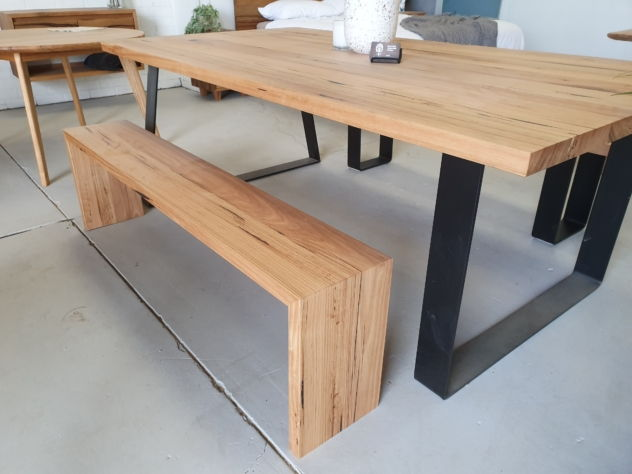 Waterfall bench style seating image