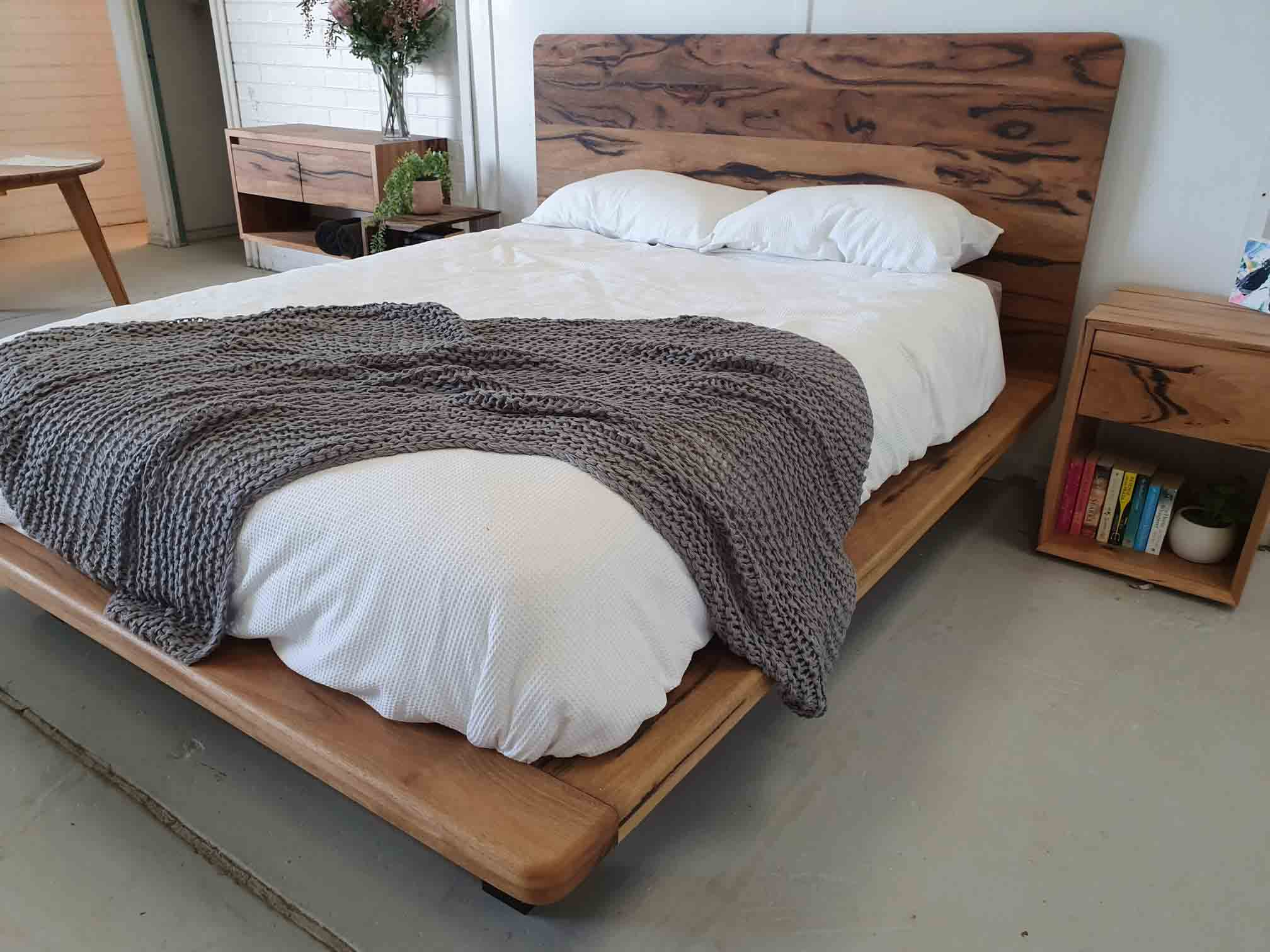 custom floating bed image