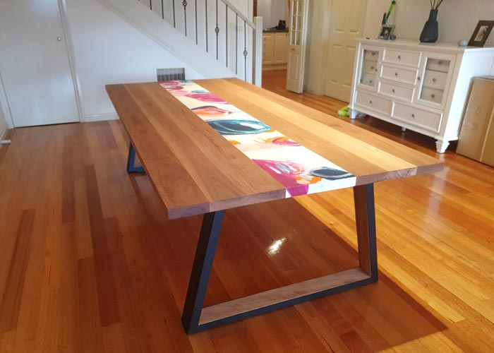 Epoxy Dining Table Image