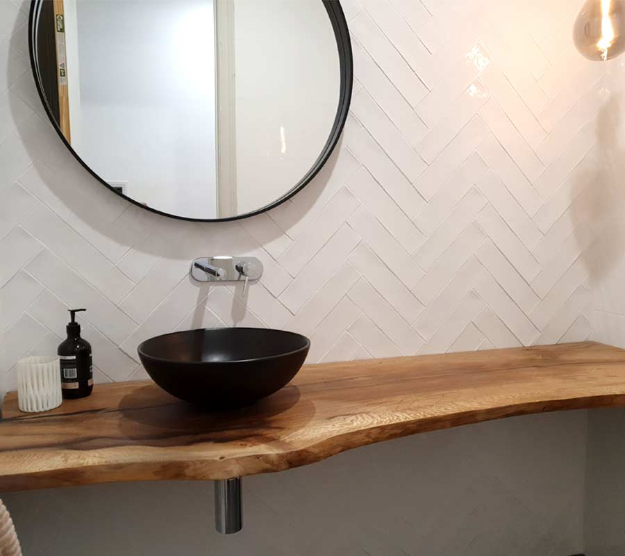 Sleek Bathroom Vanity design