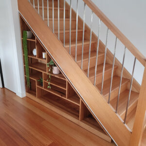 Staircase Shelves