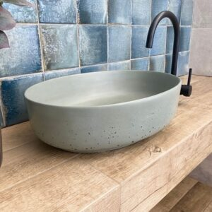Concrete Bowl Bathroom Basins