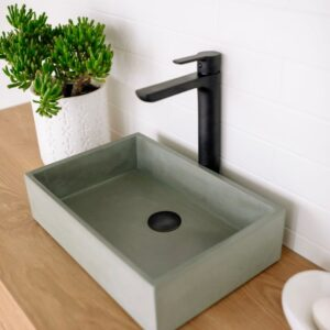 Baby Rectangle vessel basin sink