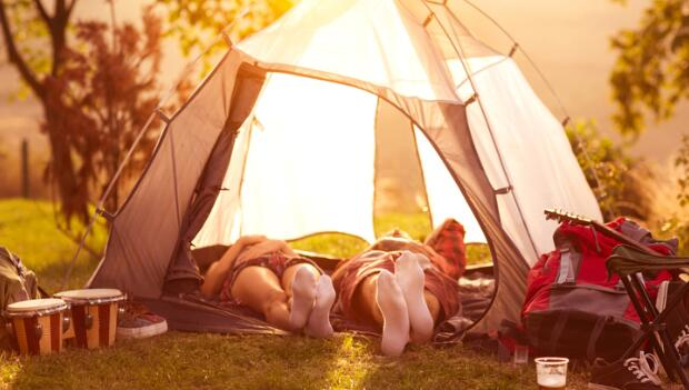 How to Get a Good Night's Sleep While Camping