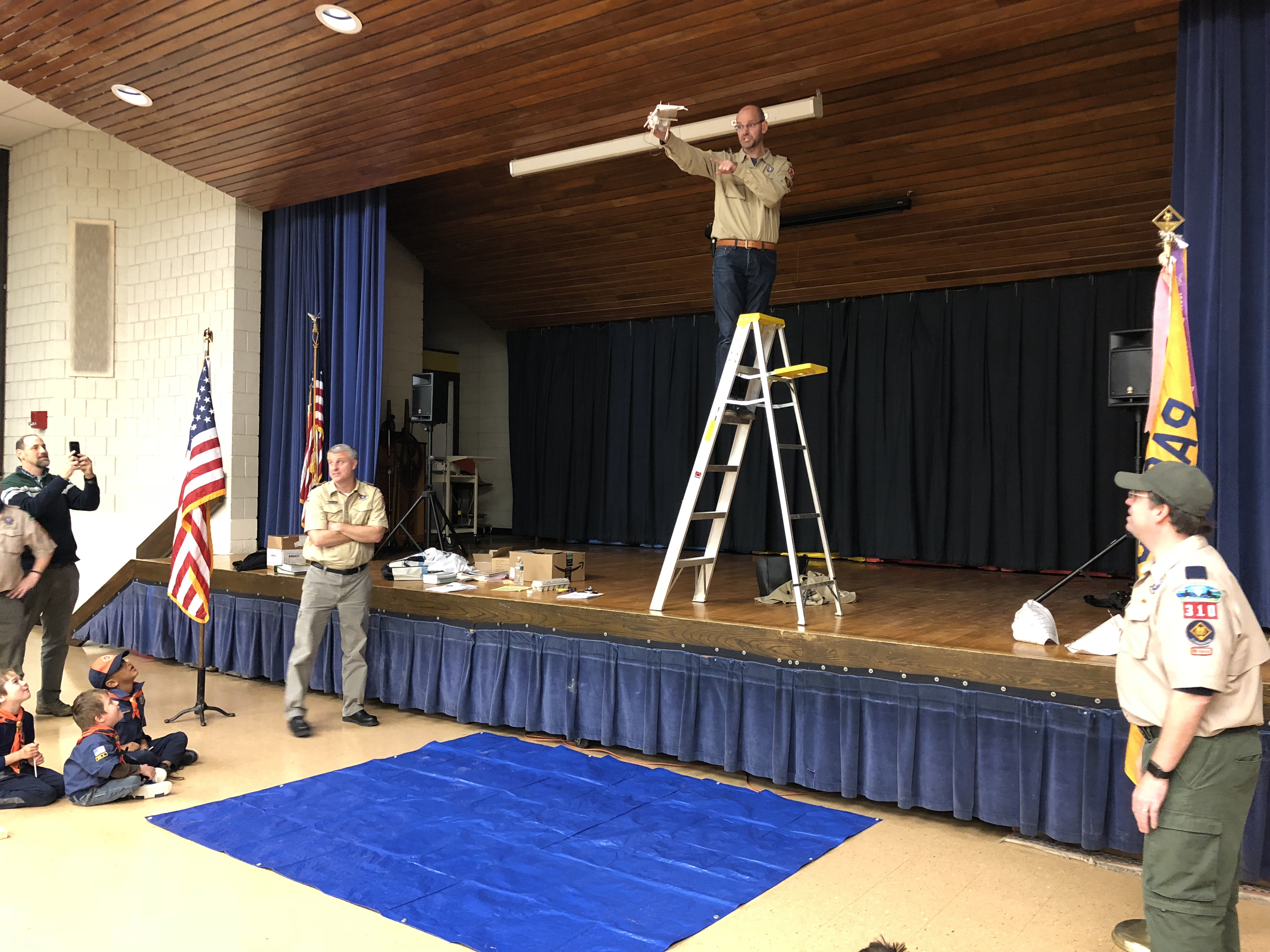 Egg Drop – STEM – October Pack Meeting