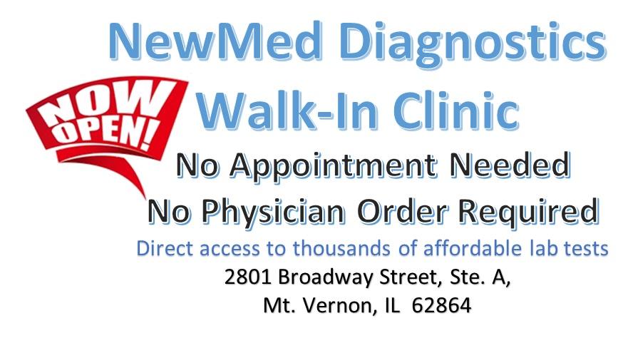 03-30-2021 Now Open Walk In Clinic