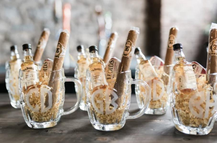 8 Boozy Wedding Favors to Lift Everyone's Spirits