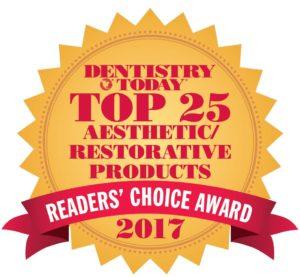 Dentistry Today Reader's Choice Award 2017