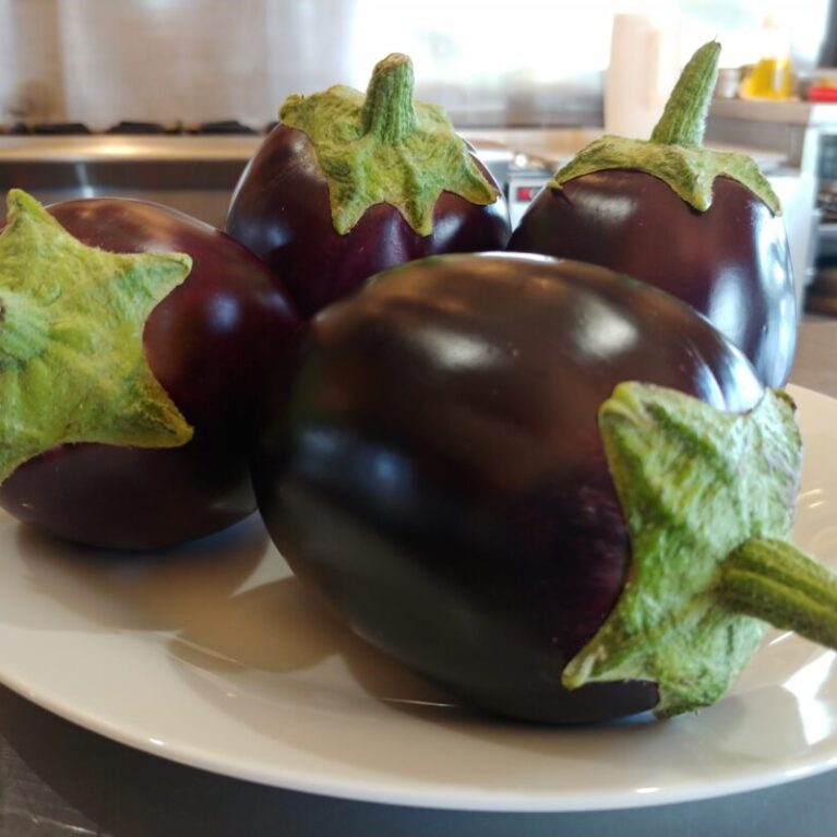 Eggplant from Garden