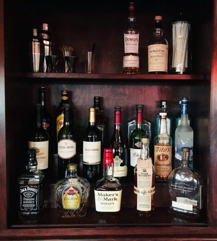 Bar Select Menu Page