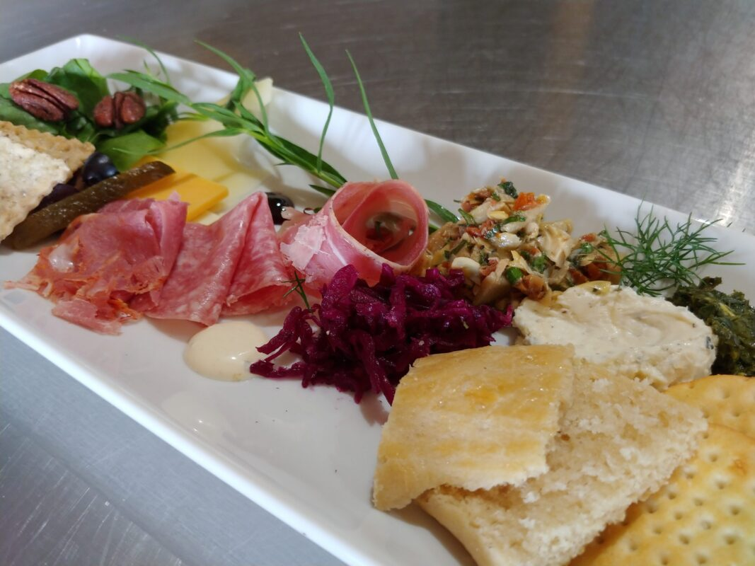 Beginnings Plate Dine with Us