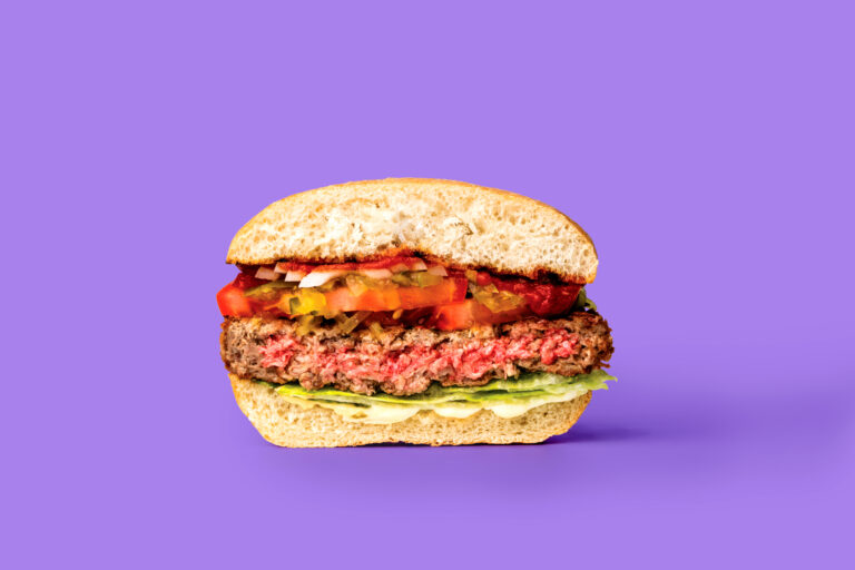 Not your mother's veggie burger – Meatless burger drives profits, aims to curb climate change and deforestation