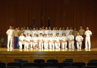 2016 Northwestern University NROTC Midshipmen