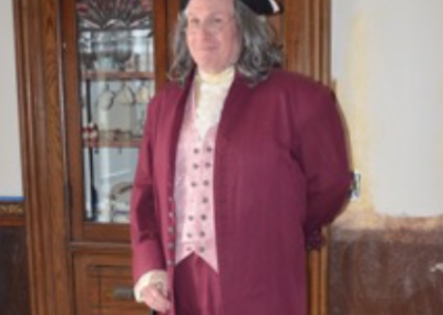Dr. Franklin pays a visit.